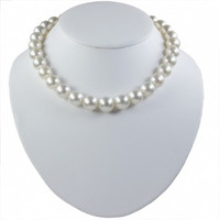 Imperial White Australian South Sea Pearl Necklace 1215SSAB