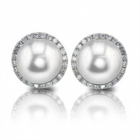 Imperial Freshwater Pearl Earrings 926930/WH