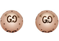 Gucci Bold Earrings Rose Gold