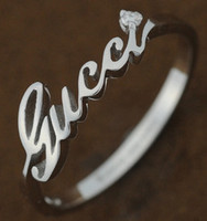 Gucci SIGNATURE Ring WG Size 50