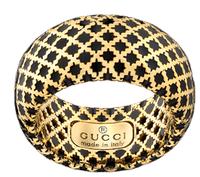 Gucci Diamantissima Anello Oro Gold Ring Size 7