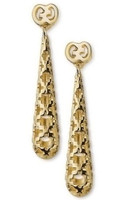 Gucci Diamantissima Orecchini Oro Gold Earrings