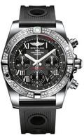 Breitling Chronomat 41 Steel Dia Bezel Ocean Racer Strap AB0140AA/BC04