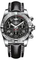 Breitling Chronomat 41 Steel Dia Bezel Lizard Tang AB0140AA/BC04