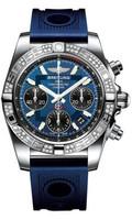 Breitling Chronomat 41 Steel Dia Bezel Ocean Racer Strap AB0140AA/C830