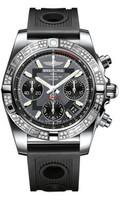 Breitling Chronomat 41 Steel Dia Bezel Ocean Racer Strap AB0140AA/F554