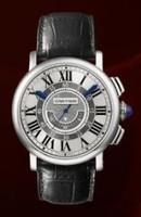 Cartier Rotonde Central Chronograph (WG/Silver/