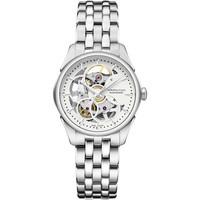 Hamilton Jazzmaster Viewmatic Skeleton Steel Ladies Watch H32405111