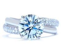 3.77 Ct Round Brilliant Diamond Ring