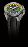 Girard-Perregaux Chrono Hawk Brazil Steel Men's Watch Limited Edition 25