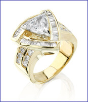Gregorio 18K Yellow Diamond Engagement Ring R-137