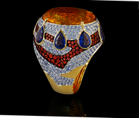 Mousson Atelier Ladya Goldc Citrine Ring R0045-0/6