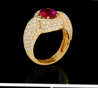 Mousson Atelier New Classic Collection Gold Tourmaline Ring R0064-1/7