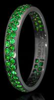 Mousson Atelier Dorojka Collection Gold Tsavorite Ring R0102-0/14