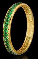 Mousson Atelier Dorojka Collection Gold Tsavorite Ring R0102-0/27