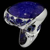 Mousson Atelier Ring New Age Gold Tanzanite Ring R0137-0/4