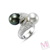Mastoloni Signature Collection Pave Ring SBWR-0688