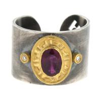 Herco Rings Silver-18KT-24KT Ring Ruby SVKURG57BD