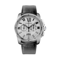 Cartier Calibre Chronograph Steel Watch W7100046