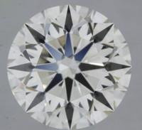 1.7 Carat I/VVS1 GIA Certified Round Diamond