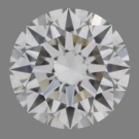 2 Carat H/VVS2 GIA Certified Round Diamond