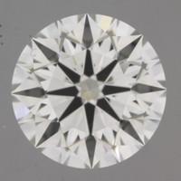 2.18 Carat I/VVS2 GIA Certified Round Diamond