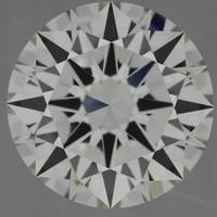 2.5 Carat I/VVS2 GIA Certified Round Diamond
