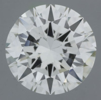 3 Carat I/VVS2 GIA Certified Round Diamond
