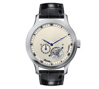 Pineider Tourbillon Watch White Dial