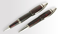 UNDERWOOD PICCADILLY EBONITE ROLLERBALL PEN