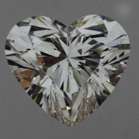 1.75 Carat G/VS2 GIA Certified Heart Diamond