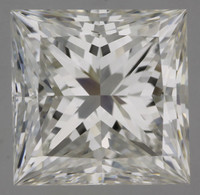 1.01 Carat H/IF GIA Certified Princess Diamond