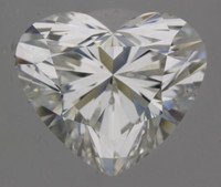 2.01 Carat F/VVS2 GIA Certified Heart Diamond