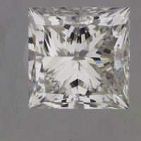 1.7 Carat I/VVS1 GIA Certified Princess Diamond