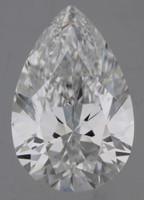 2 Carat D/IF GIA Certified Pear Diamond