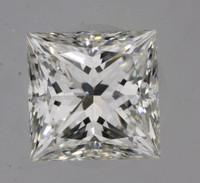 1.0 Carat H/VVS1 GIA Certified Princess Diamond