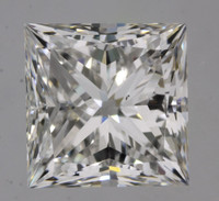 1.7 Carat F/VS2 GIA Certified Princess Diamond