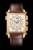 Girard Perregaux Vintage 1945 Chronograph GMT Watch #25975-52-111-BAED