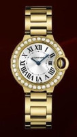 Cartier Ballon Bleu Small (Diamonds/Silver/YG)