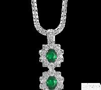 Ziva Emerald Pendant