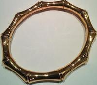 Gucci Bamboo Bracelet Rose Gold L. 17 cm