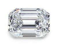 2.05 E/vvs2 Gia Certified Emerald Cut Diamond