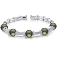 Imperial Crown Tahitian Pearl Bracelet CSB016/BWH