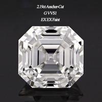 2.19 Carat G/VVS1 Asscher Cut Cut Diamond (GIA Certified)