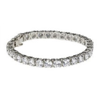 20 ctw Round Diamond Tennis Bracelet