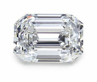 2.22 Carat G/VS1 Emerald Cut Diamond
