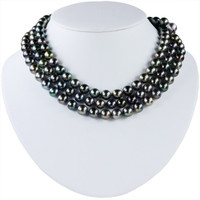 "Imperial 52"" Tahitian Pearls Necklace NECK501"