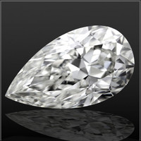 2.08 Carat I/VS1 Pear Cut Diamond (GIA Certified)