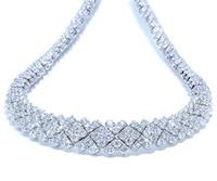 15 cttw Regal Diamond Necklace