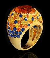 Mousson Atelier Riviera Gold Citrine Ring R0040-3/24